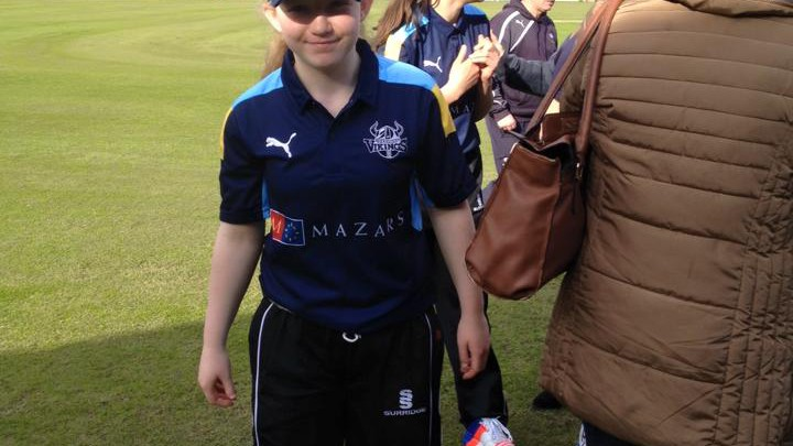 Pete was the first coach for Ella for 3 seasons from age 7 to 9 – now she is playing for Yorkshire at her age group