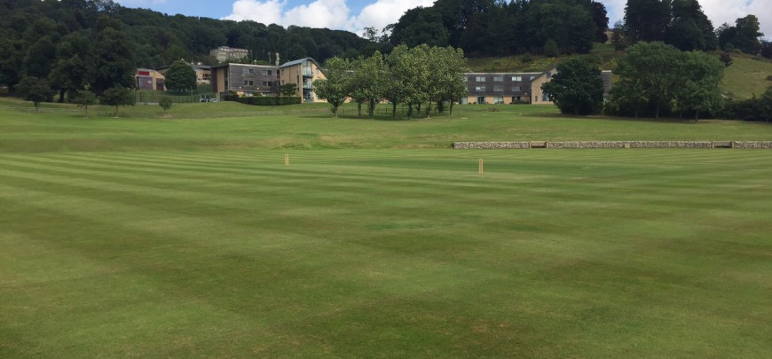 At Ampleforth College working for the Andrew Flintoff Cricket Academy